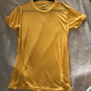 Yellow t shirt urban outfitters